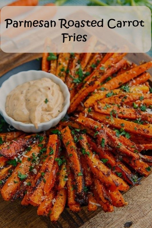 Parmesan Roasted Carrot Fries is part of Carrot fries -