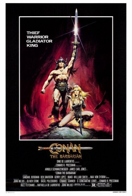 Conan The Barbarian Movie Poster Print 27 X 40 Item Movaf0399 Conan The Barbarian Movie Conan The Barbarian Conan The Barbarian 1982