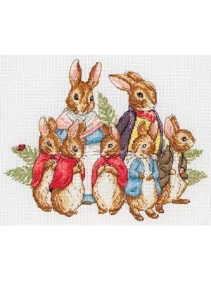 Peter Rabbit Family cross-stitch kit £19.26