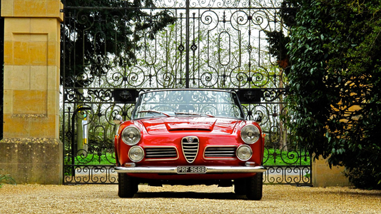 1964 Alfa Romeo 2600 Spider By Touring Silverstone Auctions
