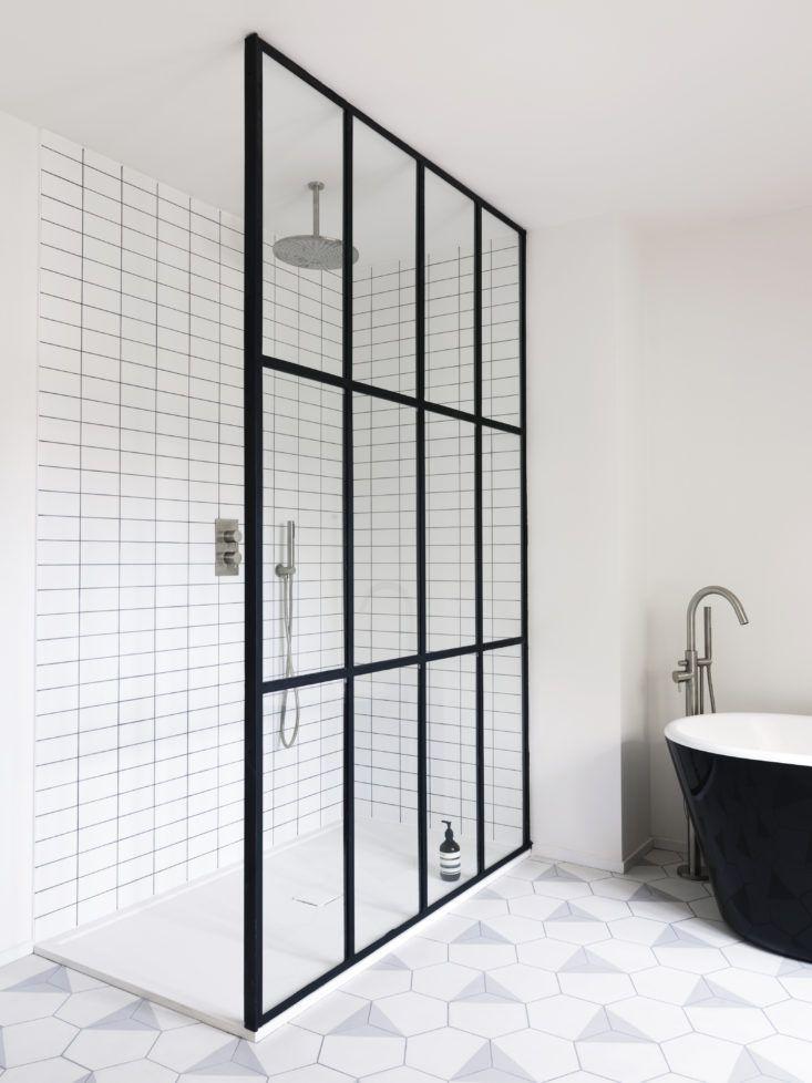 Bathroom of the Week: Steel-Frame Shower Doors in a Fanciful London ...