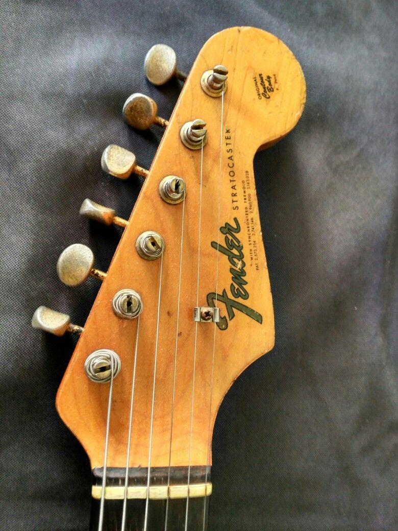 Fender Stratocaster Serie L 1964 #fender #fenderstratocaster #fenderguitars #vintageguitars