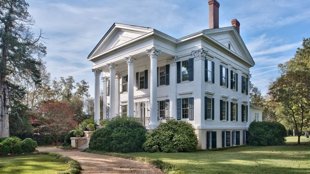 5 Sublime Greek Revival Houses For Sale Right Now Greek Revival Architecture Greek Revival Home Different Types Of Houses