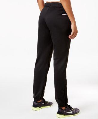 bbd95bfad5cb Nike Women s Dry Lightweight Fleece Training Pants - Carbon Heather ...