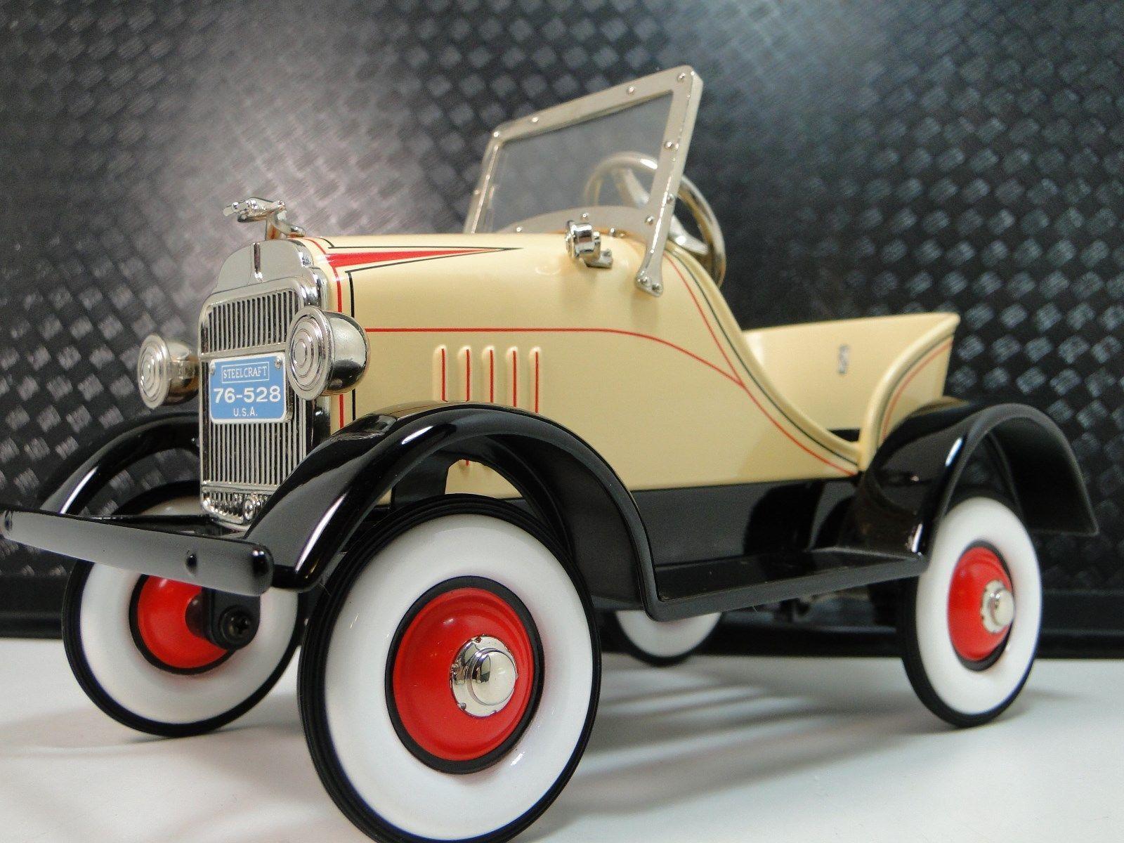 Toys car images  PedalCarsFordAHotTRodRareVintageClassicSportMidget
