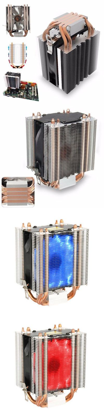 CPU Fans and Heat Sinks 131486: Core Led Cpu Easy Fan Cooler