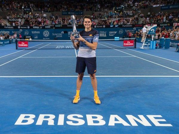 Improved Raonic Ready To Take It To Federer 9 January 2016 News Brisbane International Tennis Brisbane Tennis Brisbane Queensland