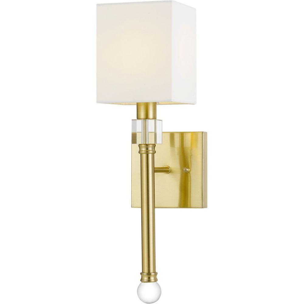 Af Lighting Sheridan Gold Wall Sconce 9138 1w