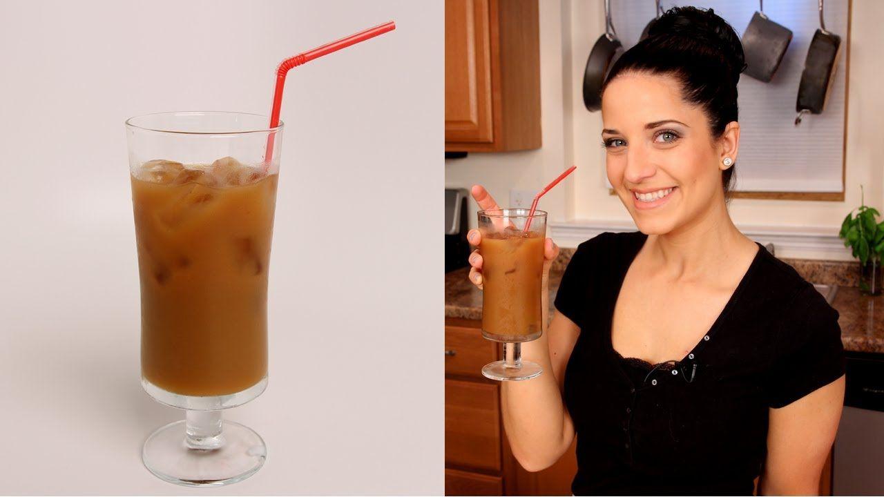 Homemade Iced Coffee Laura Vitale Laura In The Kitchen Episode 361 Ice Coffee Recipe Homemade Iced Coffee Iced Coffee