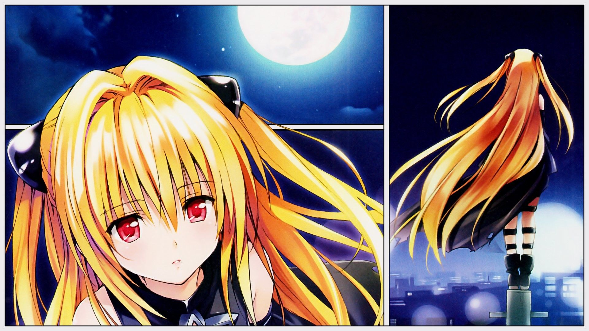 1920x1080 Anime To Love Ru Golden Darkness Wallpaper Download