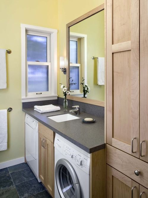 Small Bathroom Laundry Room Combo Ideas, Pictures, Remodel And