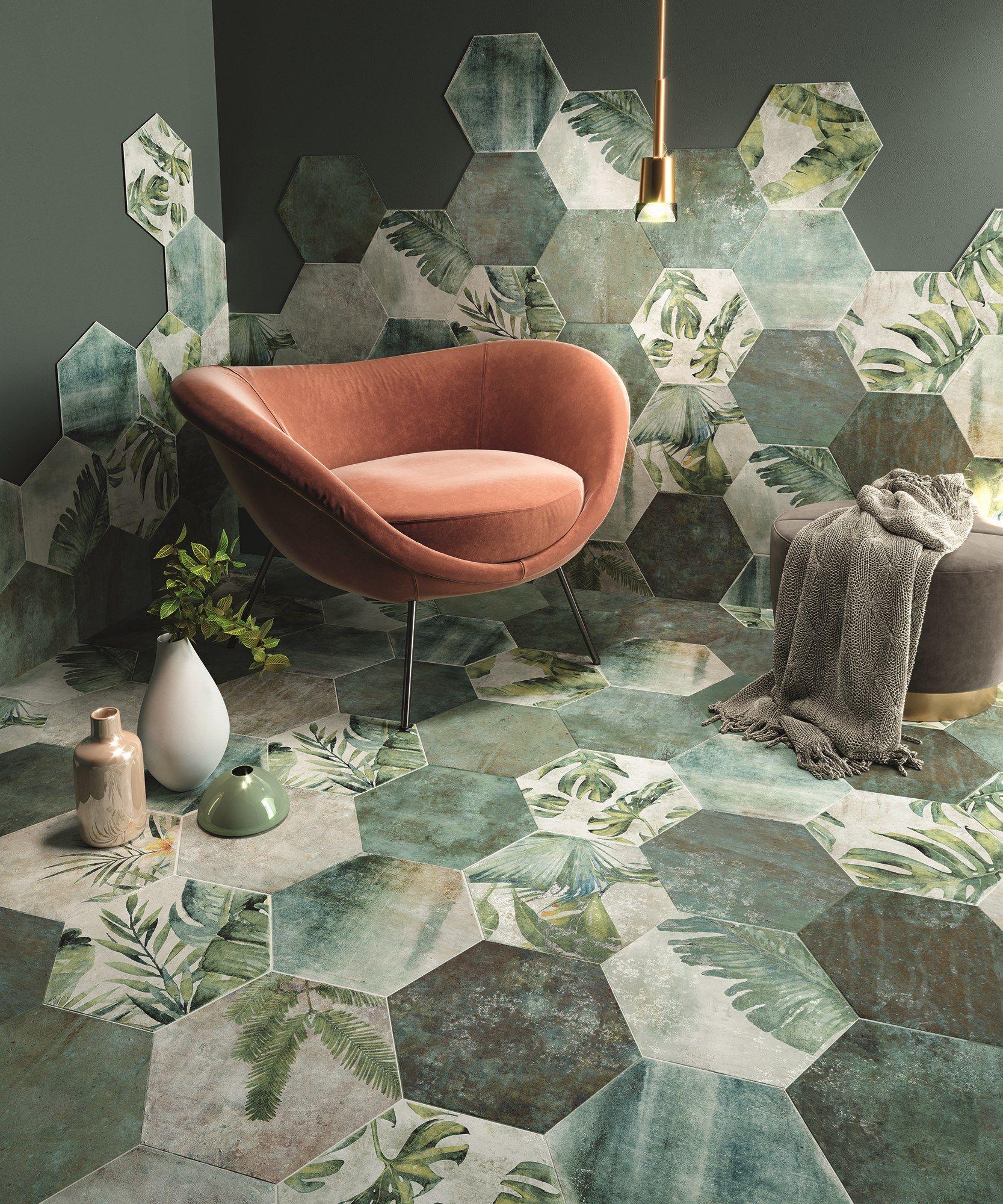 Wand- und Bodenbelag aus Feinsteinzeug TROPIC Kollektion AMAZONIA By ZYX