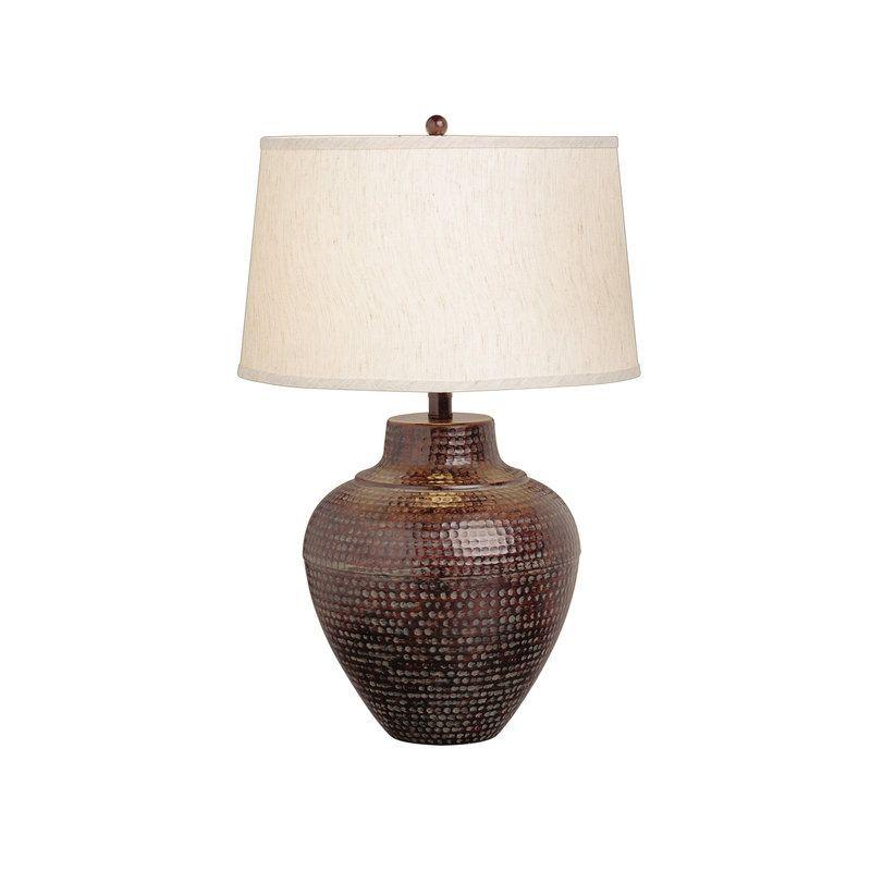 Missoula 1 Light Vase Hammered Table Lamp Hammered Table Lamps Table Lamp Lamp