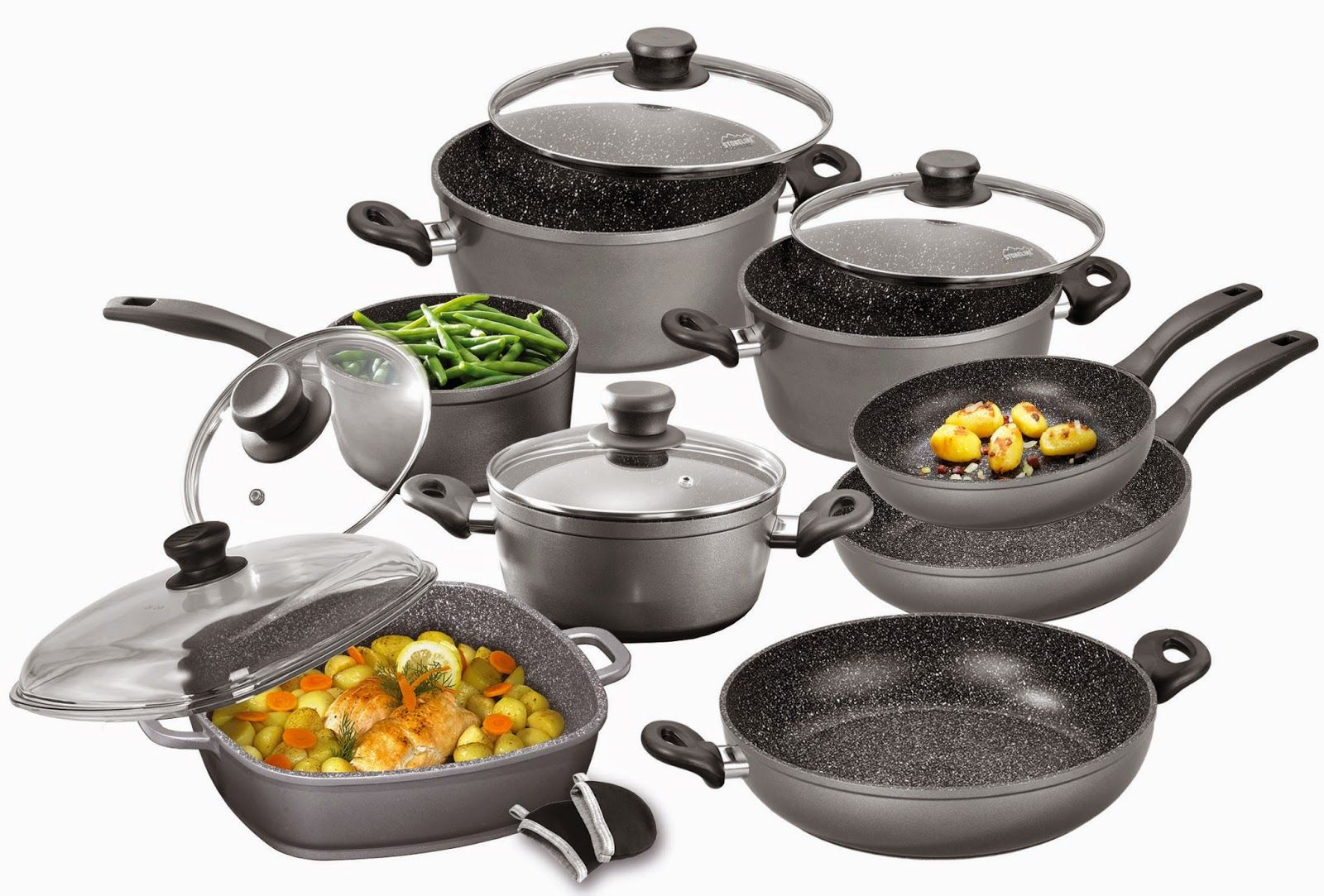 Top 10 Best Non Stick Cookware Sets In 2021 Reviews Hqreview Best Non Stick Cookware Cookware Sets Cookware Set Best