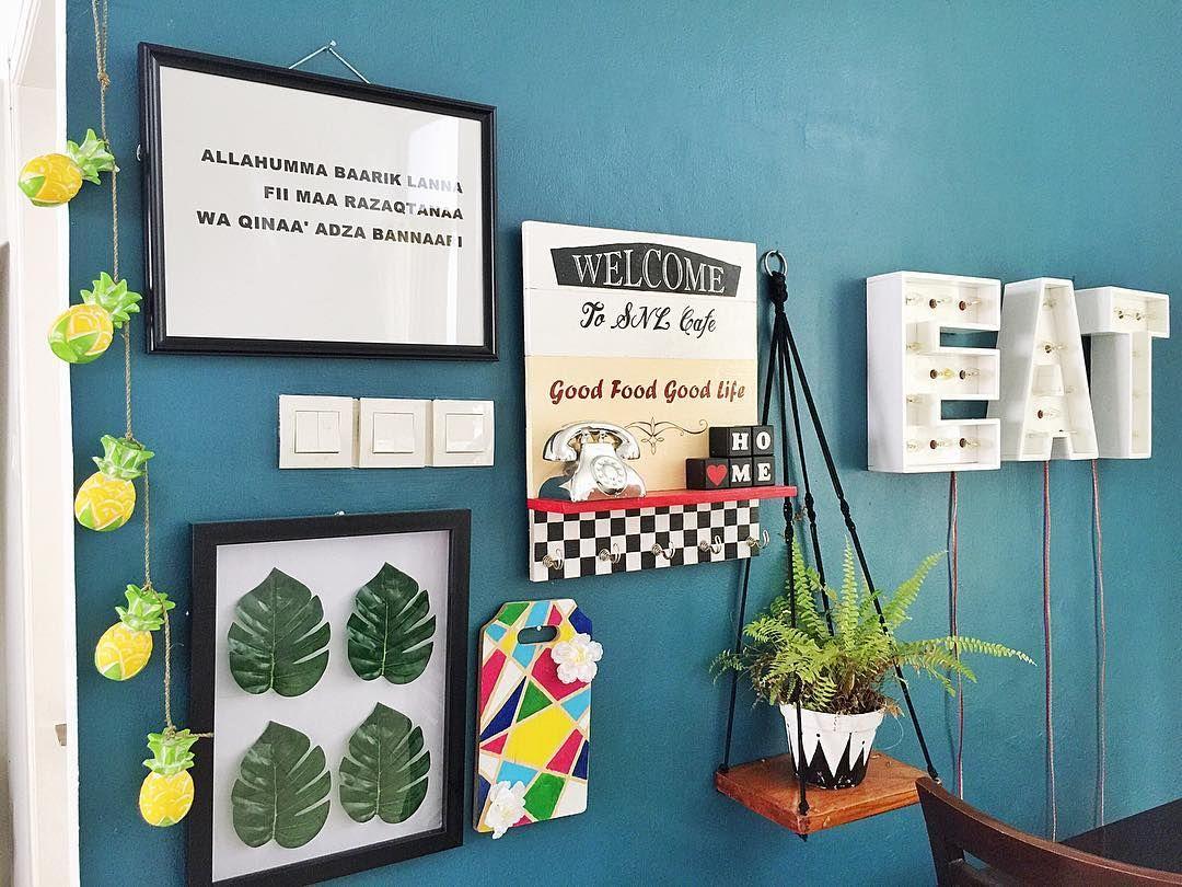 Hiasan Dinding Ruang Makan Minimalis Sederhana