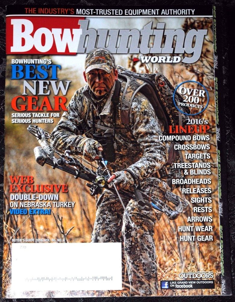 Bowhunting World Magazine BUYERS GUIDE 2016 (With images