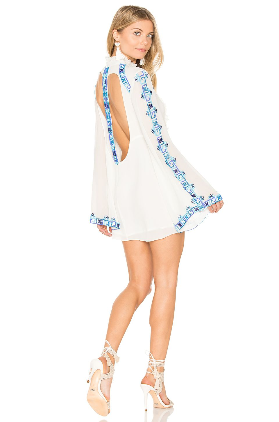 Rococo Sand Long Sleeve Mini Dress In Cobalt Revolve Long Sleeve Mini Dress Mini Dress White Long Sleeve Dress Kohl's carries all of the dress colors that you need to coordinate your look, including white long sleeve casual dresses with long sleeves are a great option for going out or for a day at the office. pinterest