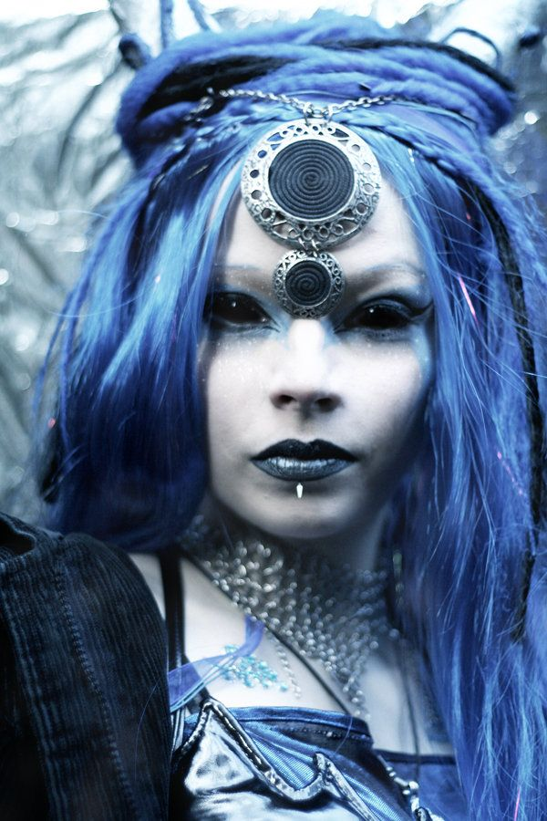 Costumes With Blue Hair