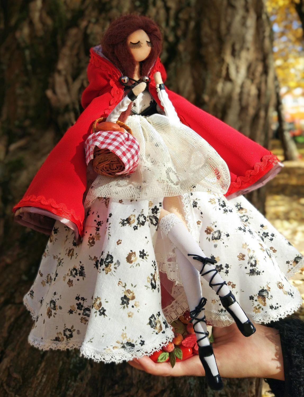 Авторская кукла. Красная Шапочка – купить на Ярмарке ...
