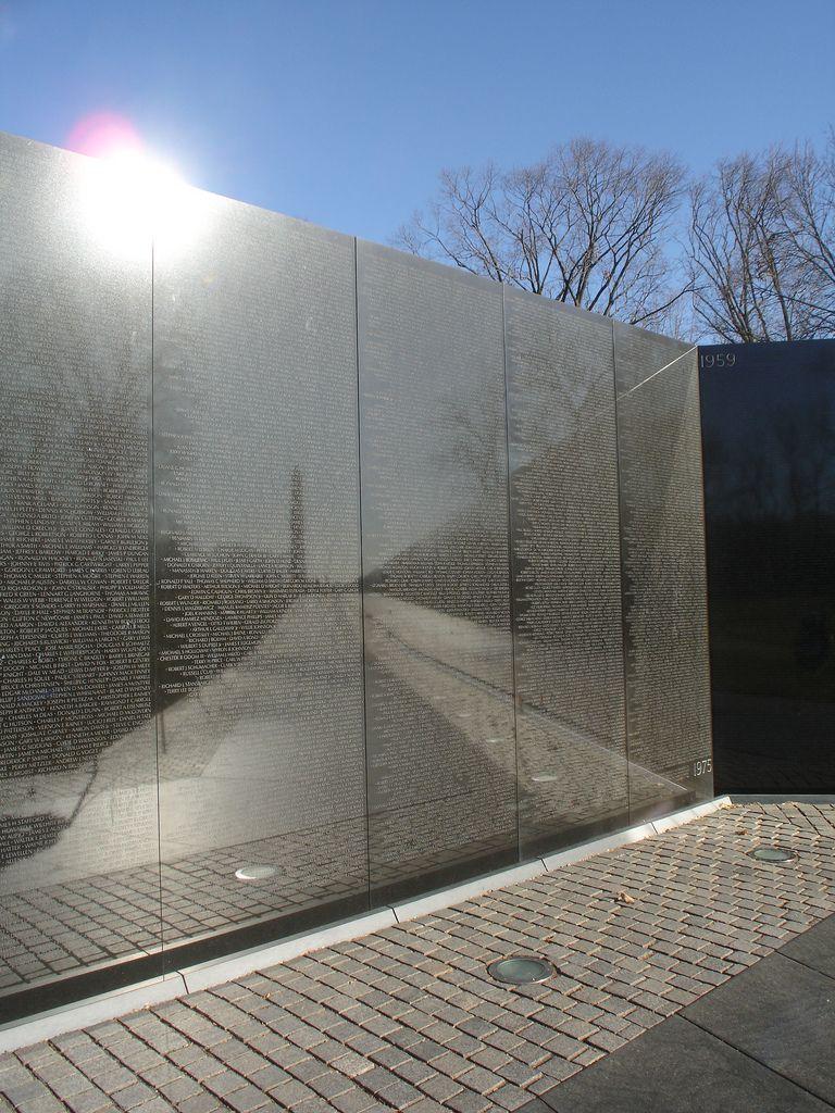 Vietnam Veterans Memorial, Washington, D.C., Designed By Maya Lin.