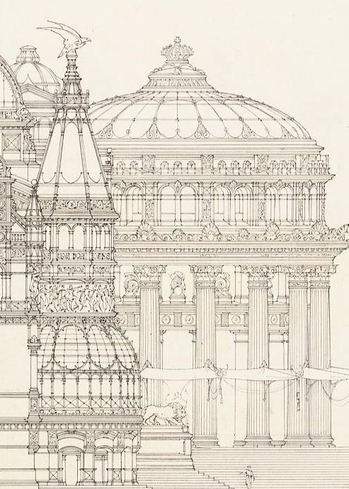 Paper Architects Otto Schmalz German 1861 1906 Design