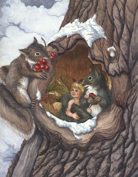 WINTER CHILDREN BY MARJI GRAVETT