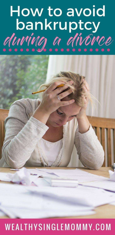 Bankruptcy during divorce should you file or not