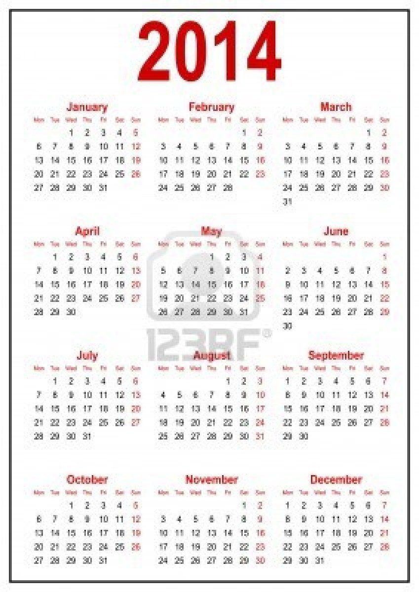 calendar 2014 | calendario 2014-11810922-calendario-2014.jpg ...