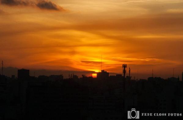 ATARDECER 11-05-2015  #FotosDesdeElPiso13 #ChauFebo