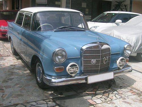 1965 Mercedes W110 200 Petrol Oldtimer Autos Oldtimer