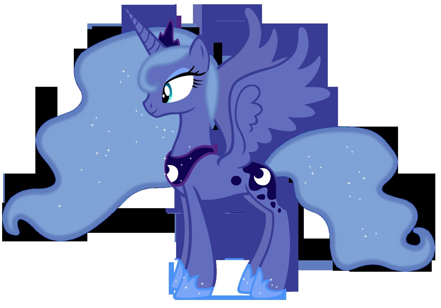 Картинки как нарисовать пони принцессу луну