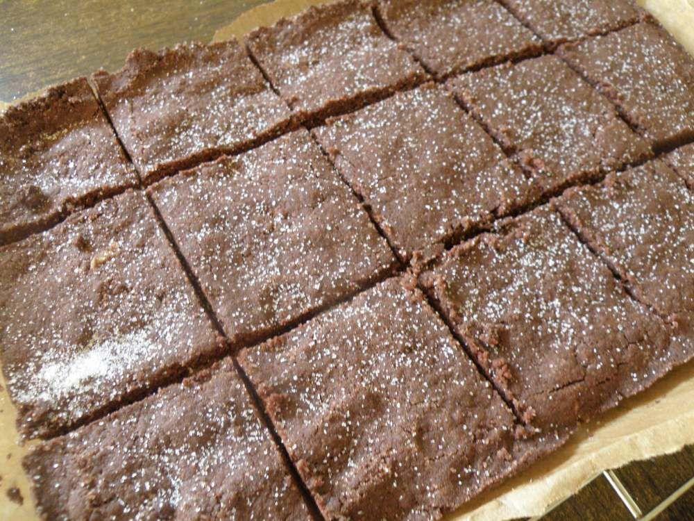 Chocolate Concrete Pink Custard Recipe