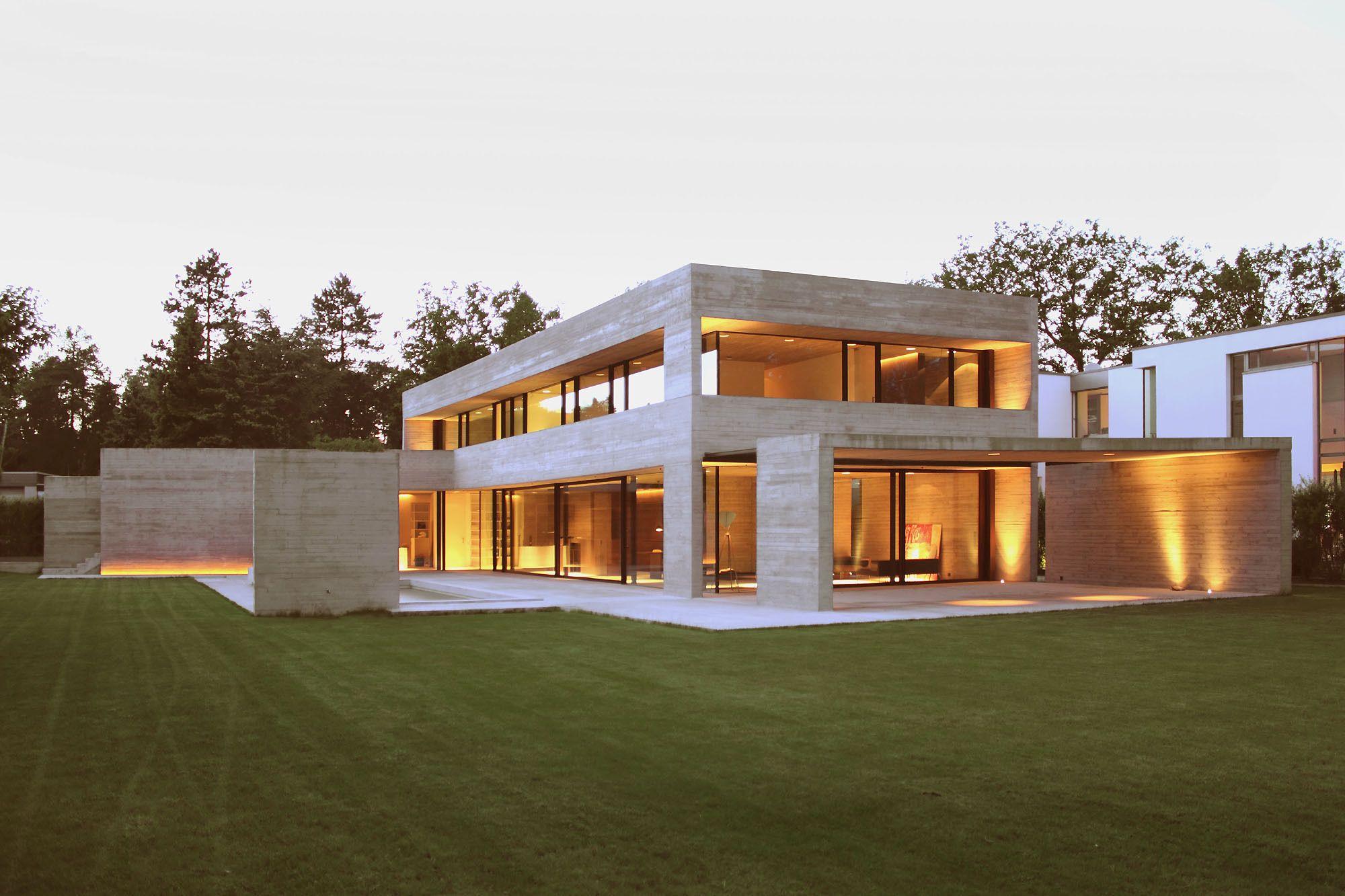 Kompromisslos in Braunschweig Wohnen in Holz und Beton