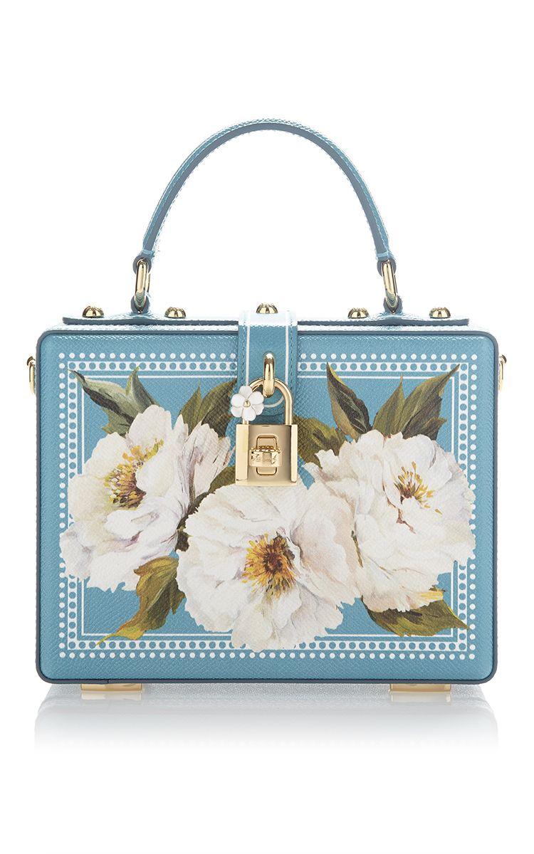 1381dfbbac Peonies Box Bag by DOLCE   GABBANA for Preorder on Moda Operandi