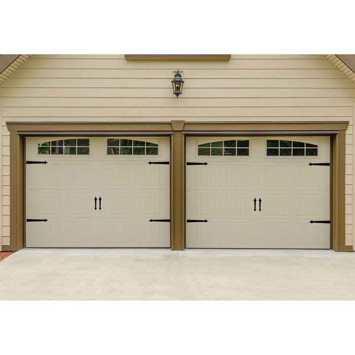 Magnetic Hinge It Decorative Garage Door Accent Hardware Kit With Images Garage Door Decor Garage Doors Accent Doors