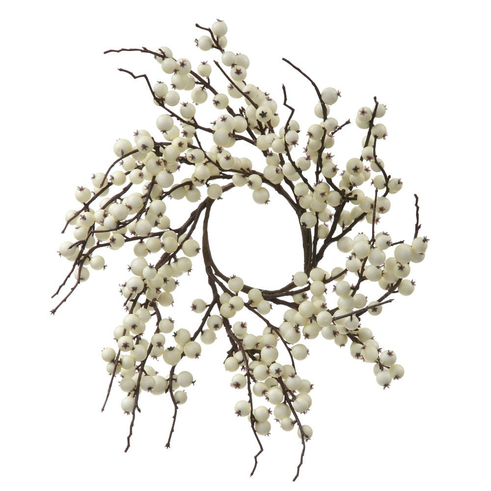 18'' Wild Berry Decorative Christmas Wreath