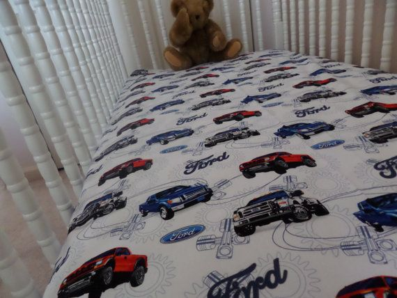 Ford Truck Baby Toddler Crib Bed Fitted Sheet Baby Aranda