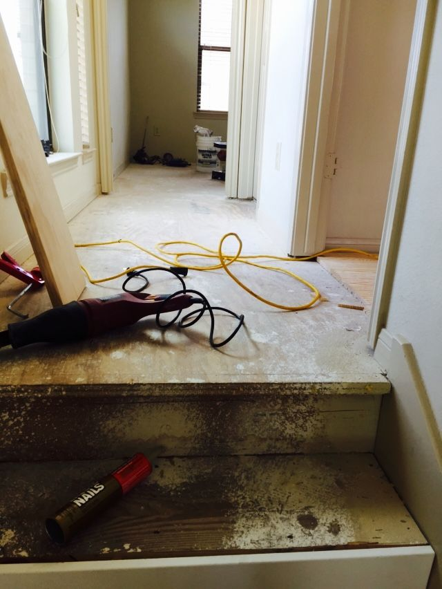 Houston Wood Flooring Refinishing And Installations New Steps And