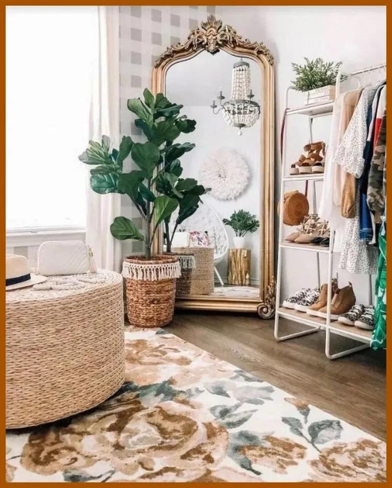 70 idées de décoration de chambre à coucher vintage pour obtenir un look unique et esthétique #chambre …