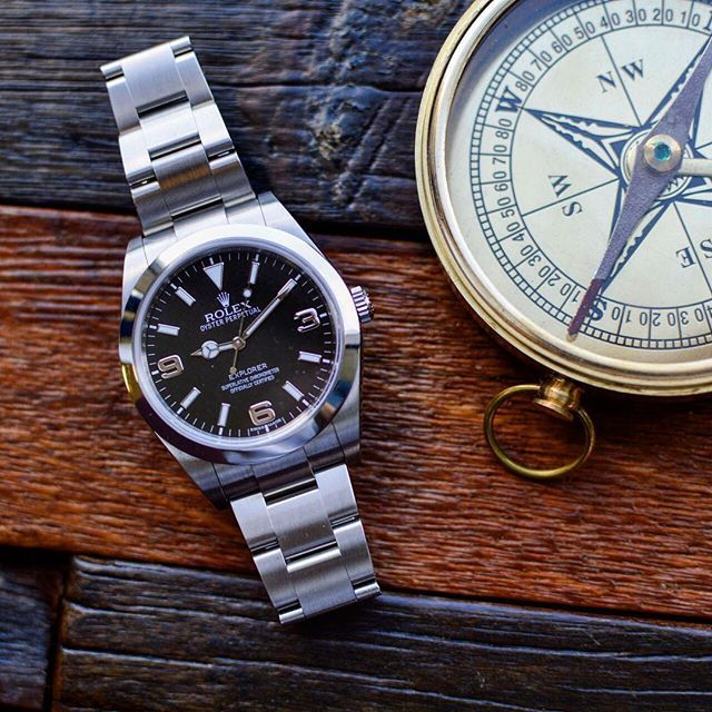 cdbf4d31884 This Rolex Explorer is ready for your next adventure.