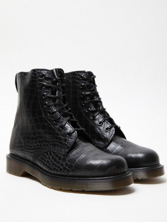ce1ffb5f39f Dr. Martens Croco Pascal boots. Docs in faux crocodile skin...#MENS SHOES  #MENS APPAREL