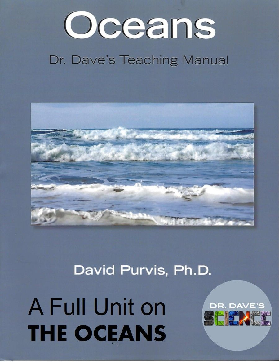 A Teaching Manual On The Oceans Topics Include Salinity Waves Currents And Tides The Ocean Floor The Differen Layers Of The Ocean Teaching Science Topics