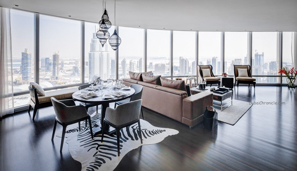Step inside this lovely 2-bedroom apartment in Burj Khalifa ...