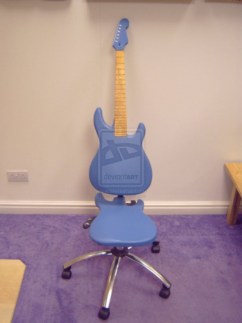 Guitar Chair Seating Pinterest Guitar Guitar Chair