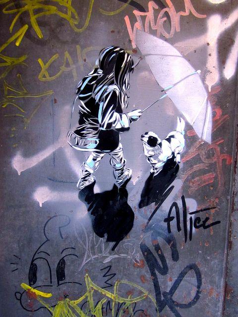 Alice Pasquini - Roma by AliCè, via Flickr