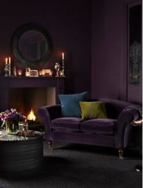 Exceptionnel Deep Purple Living Room