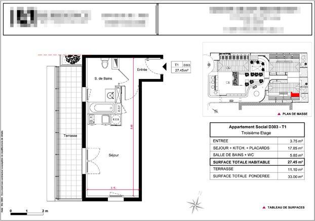 plan de vente basique localisation plan masse pixandpic infographie 2d 3d babylone. Black Bedroom Furniture Sets. Home Design Ideas