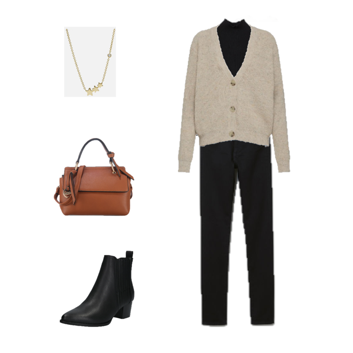Black turtleneck sweater+black skinny jeans+black ankle-boots+brown handbag+star prendant necklace. Fall Weekday/ Workwear Outfit 2019 #skinnyjeansandankleboots Black turtleneck sweater+black skinny jeans+black ankle-boots+brown handbag+star prendant necklace. Fall Weekday/ Workwear Outfit 2019 #skinnyjeansandankleboots Black turtleneck sweater+black skinny jeans+black ankle-boots+brown handbag+star prendant necklace. Fall Weekday/ Workwear Outfit 2019 #skinnyjeansandankleboots Black turtleneck #skinnyjeansandankleboots