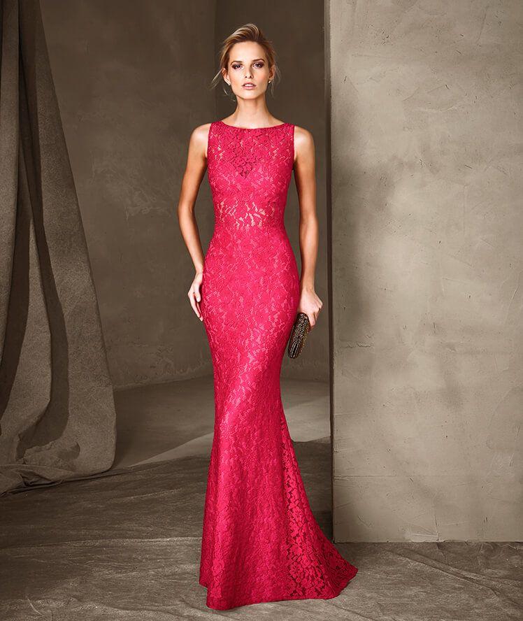9520fecd4b CARINA - Vestido de festa longo Pronovias