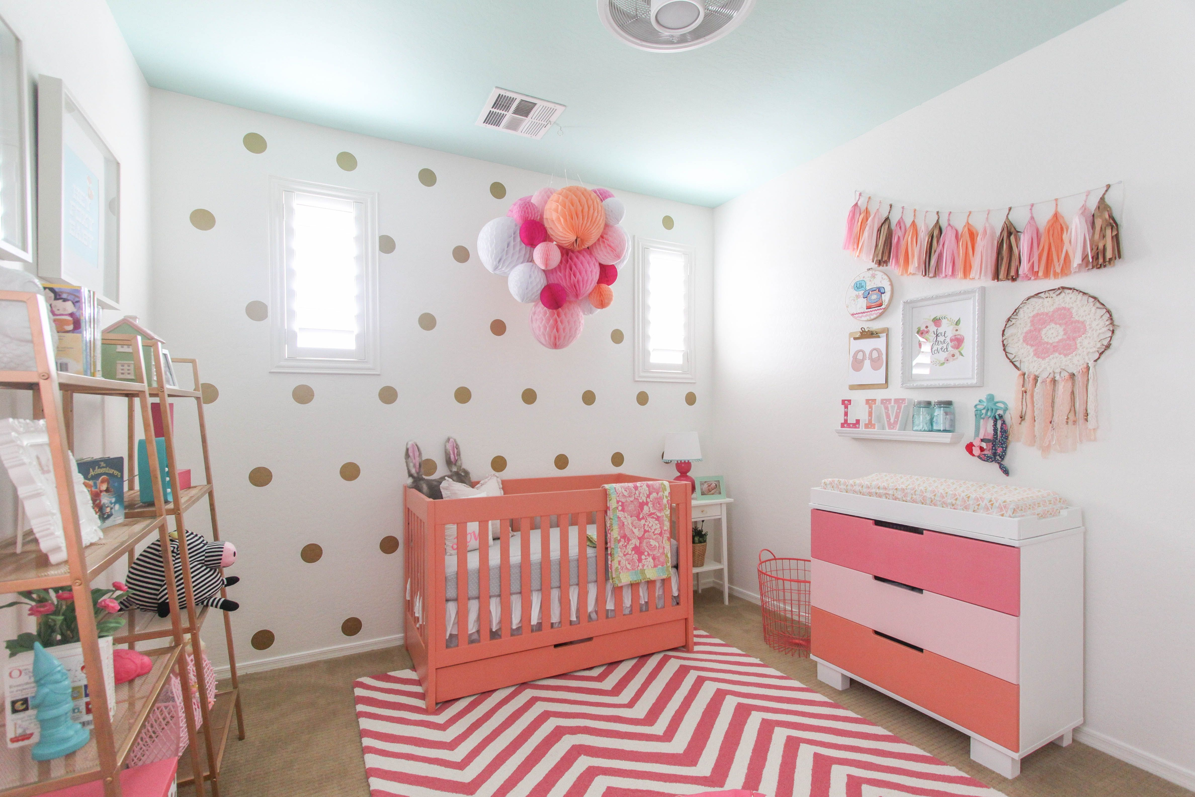 Design Reveal: Boho Chic Nursery | Project nursery and Nursery